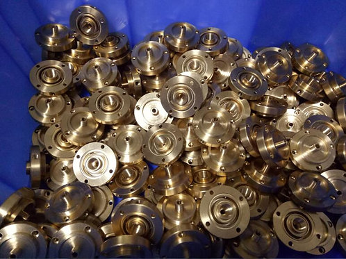 Brass mass production by cnc machining