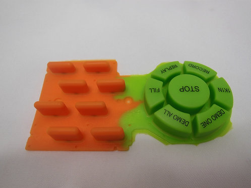 Keypad Prototype with Silicone by Compression Molding