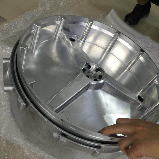 Auto car rapid prototype made with aluminum by cnc machining