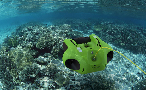 Truly Professional Underwater Robot