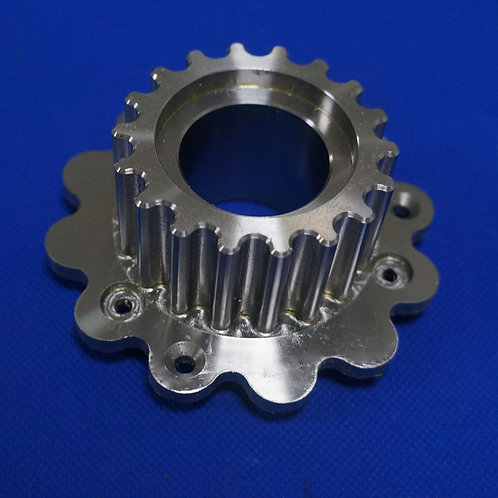 High Precision CNC Machining Aluminum Gear