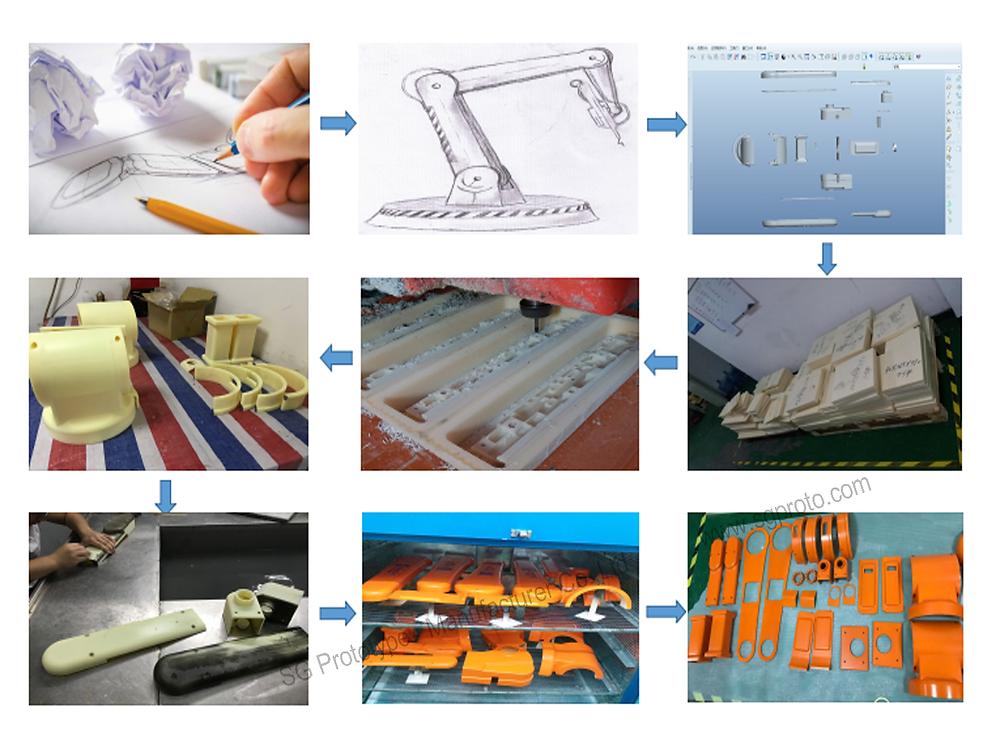 cnc-machining-robot-arm-rapid-prototype-4