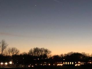 Jupiter, Saturn, and a Sky Full of Hope