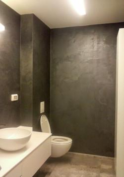 אפקט קטיפה בחדר אמבטיה