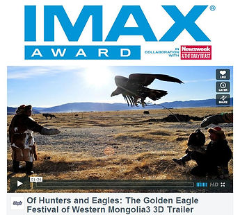IMAX Award - of hundters and eagles - th
