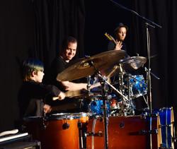 kid drummer