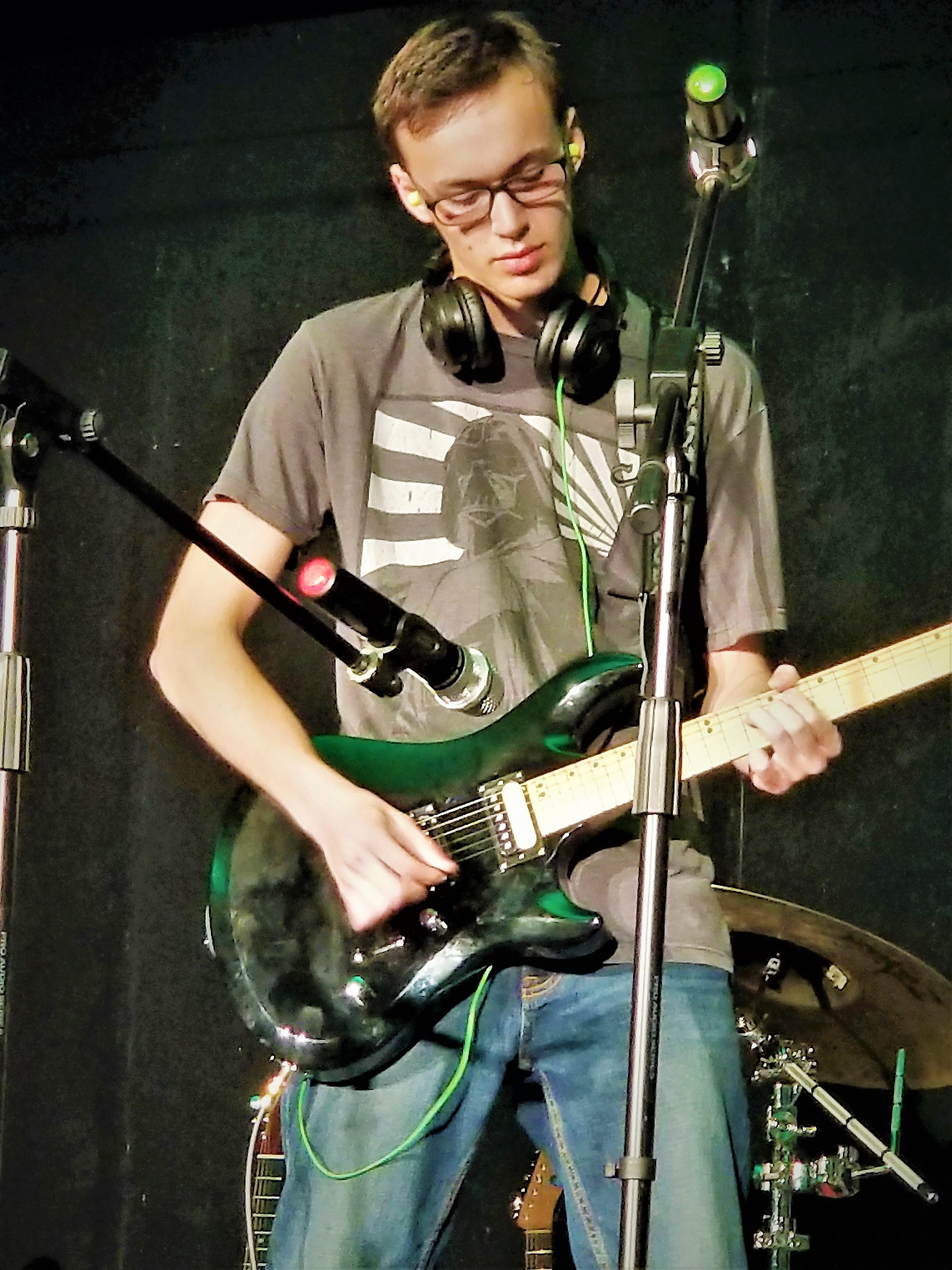 guitar student