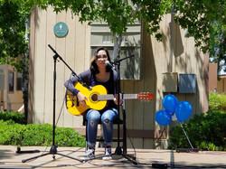 Bella performing