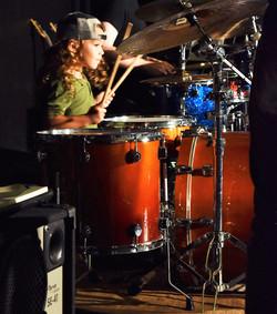 little drum student