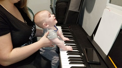 Littlest Piano Student