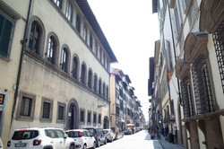 Florence Historic center street view