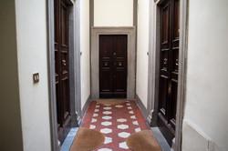 Florence Historic Palace entrance