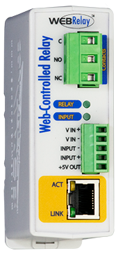 WebRelay™ | Single Relay and Input Module