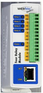 WebRelay-Quad™ | Remote Relay Control