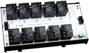 X-18s™ | 10 High-Current Relay Expansion Module