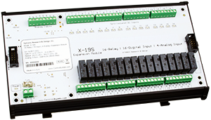 X-19s™ | 16 Relay, 16 Digital and 4 Analog Input Expansion Module