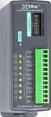 X-15s™ | Eight Digital Input Expansion Module