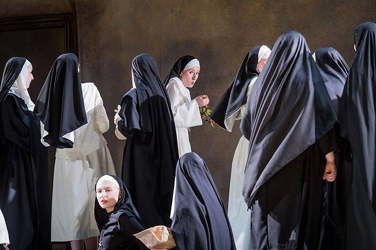 Ann Wilkes as Suor Dolcina in RNCM production of Suor Angelica
