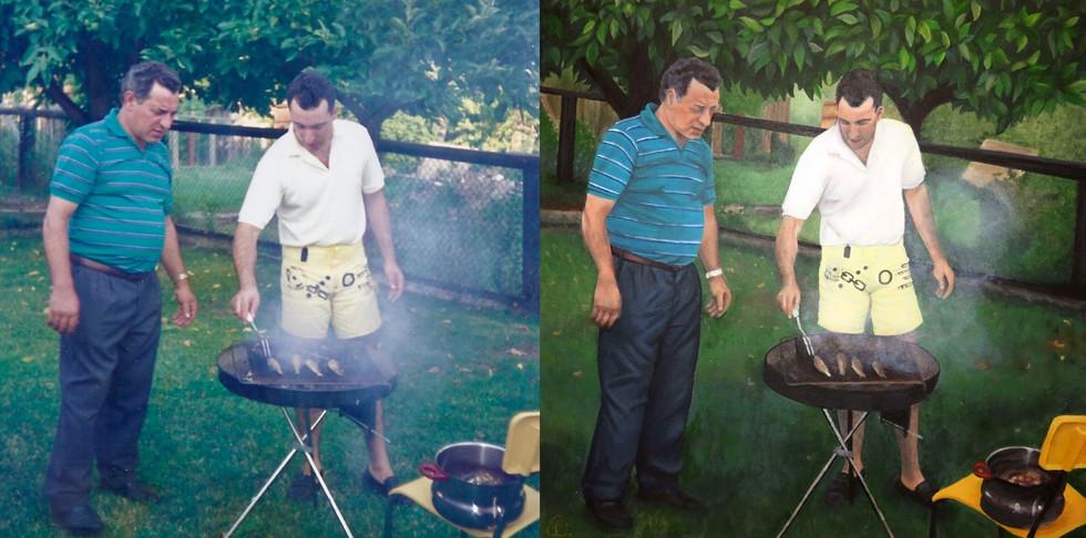 Father & Son (transformation)