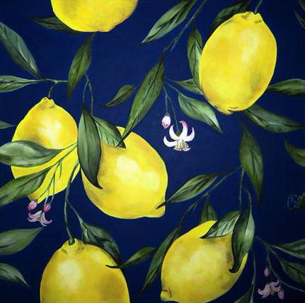 LEMONS IN THE NIGHT