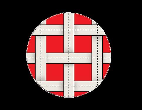 GYMNOVA - Toile bordée pour grand trampoline - 5mm x 4mm