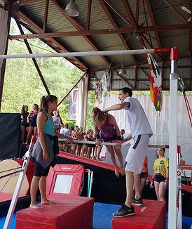Formation entraîneurs Camp de vacances Camps Rep Gymnastique GymRep