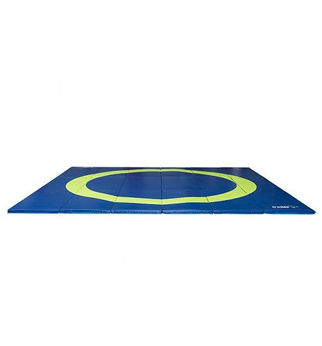 O'Jump - Tapis de lutte pliable EPS - 6m x 6m x 5,5cm