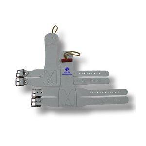 Us Glove - HOTSHOT-LEATHER-DB - Gants hot shot regulier avec double boucles