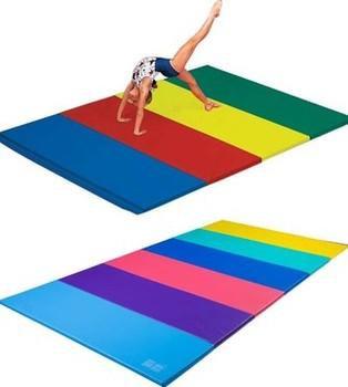 "Spieth America - Tapis multicolore 6' x 12' x 2"" velcro extrémités"