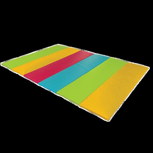 GYMNOVA - Aire d'évolution pliante multicolore - 3m x 2m x 4cm - educ'gym