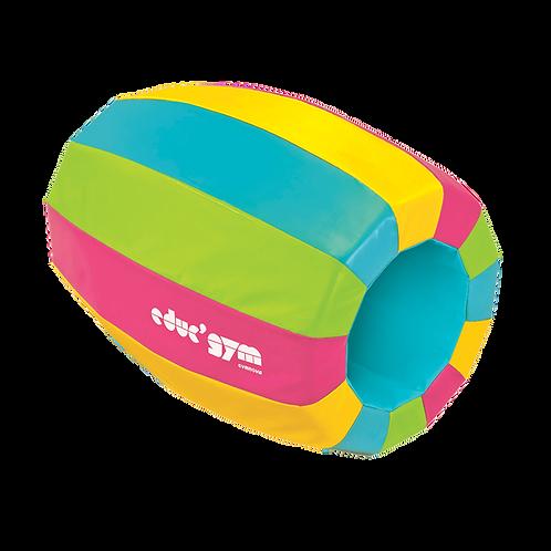 GYMNOVA - Module tunnel multicolor - Longueur 97 x 85/45cm - educ'gym