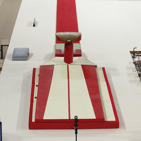 GYMNOVA - Ensemble tapis saut compétition avec sur-tapis - FIG