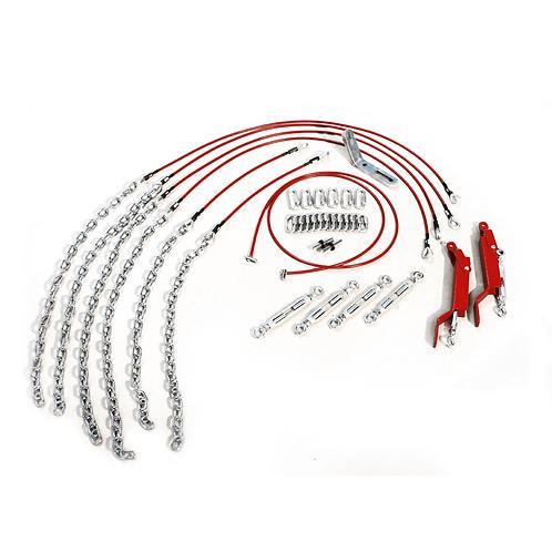 GYMNOVA - Câblerie courte pour barres asymétriques