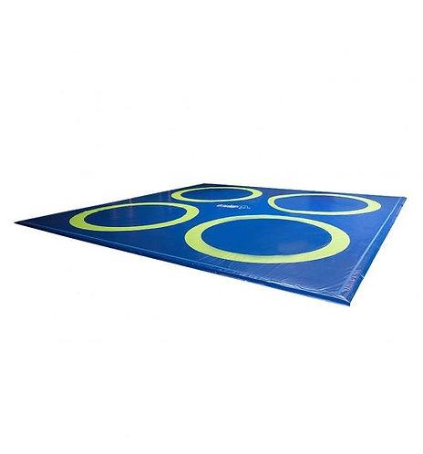 O'Jump - Tapis lutte d'entraînement bâche réversible - 10m x 10m x 4cm