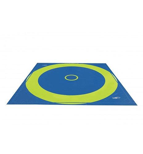 O'Jump - Tapis lutte sous-couche pistes enroulables - 6m x 6m x 3,5cm