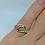 Thumbnail: Amethyst gold ring