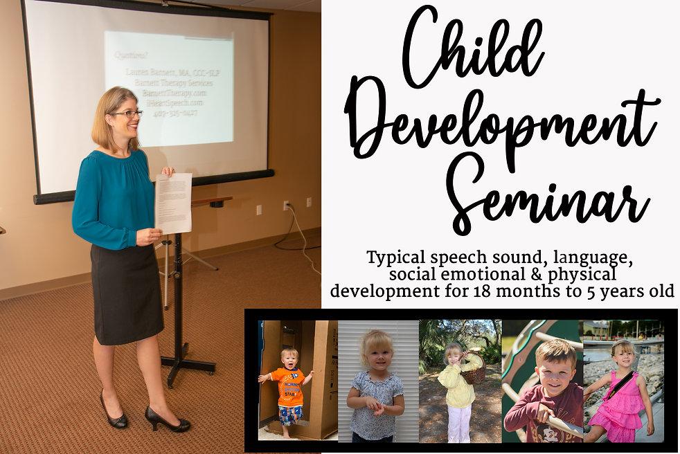 Speech and Language Development for Teac