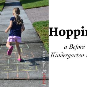 Hopping! A Before Kindergarten Skill