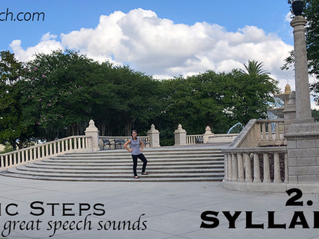 8 Basic Steps to Great Speech Sounds! - Step 2 - Syllable Level