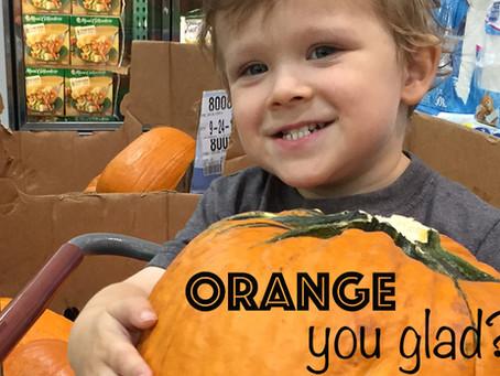 """""""Orange"""" You Glad it's Time for Pumpkins!!"""