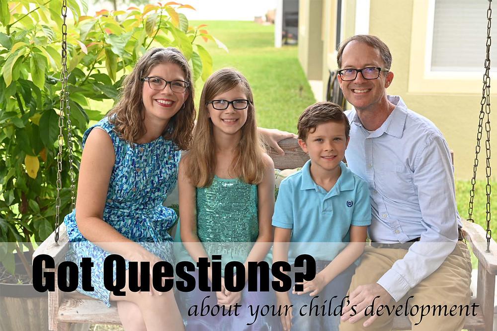 Speech Language Pathologist Answers Questions about Child's development