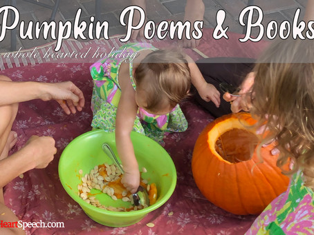 Whole Hearted Holidays - Pumpkin Poem and Books