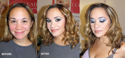 special occasion makeup and hair