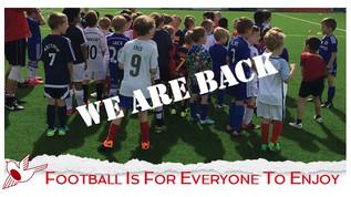 Saturday Soccer School is Back Saturday 3rd April