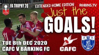 Just the Goals - Barking