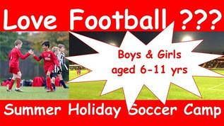 Summer Holiday Soccer Camp