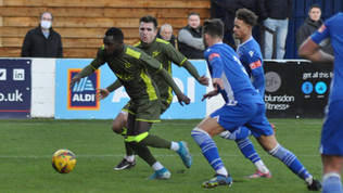Robins rue missed chances as they fall out of FA Trophy on penalties