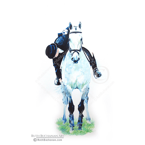 Girth, Boots, Tail Bandage - Limited Edition Print of 350