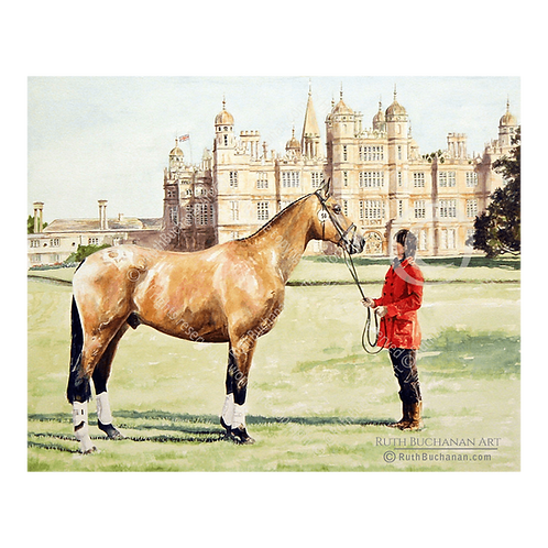 Dun Burghley - Limited Edition Print of 10