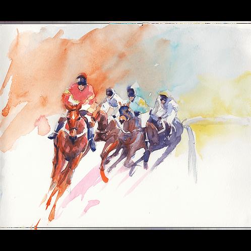 Splash & Dash - Original Watercolour